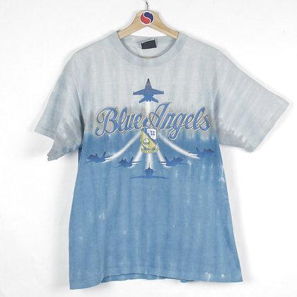 2000's Blue Angels Liquid Blue Tee - M
