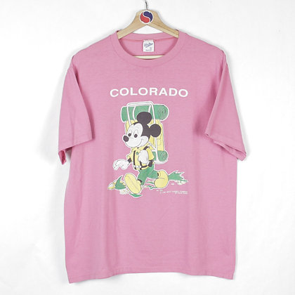 80's Mickey Mouse Colorado Tee - XL (L)