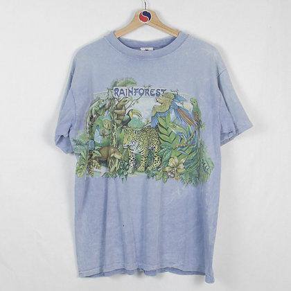 Vintage 1993 ME's Zoo Indianapolis Rainforest Single Stitch Tee - M