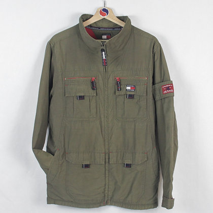 Vintage Tommy Jeans Military Jacket - XL (S-M)