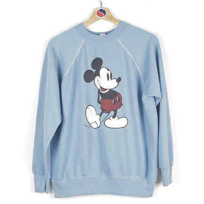 80's Mickey Mouse Crewneck - XL (M)