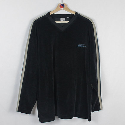 Vintage Velour Perry Ellis Fleece - XL