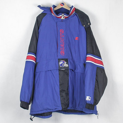 90's New York Giants Starter Jacket - XXXL
