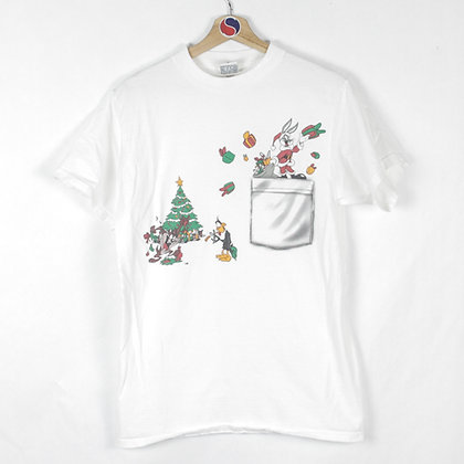 1997 Looney Tunes Christmas Tee - M
