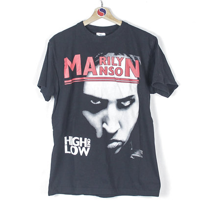 2009 Marilyn Manson The High End Of Low Tour Tee - L