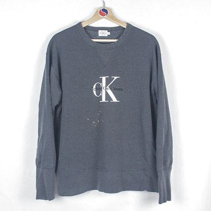90's Women's Calvin Klein Crewneck - L
