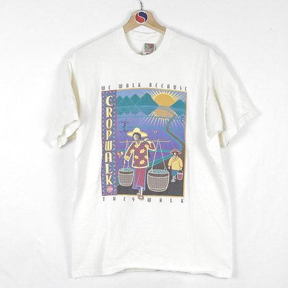 90's Crop Walk Tee - L