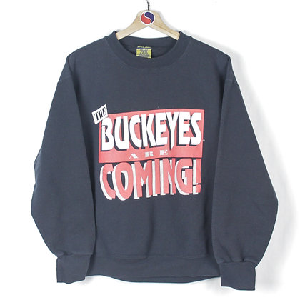90's Buckeyes Are Coming Crewneck - L