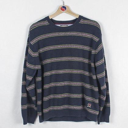 2000's Tommy Hilfiger Crest Sweater - XL (L)