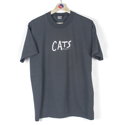 90's Cats Musical Tee - L