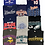 Thumbnail: Pro Sports Tee T-shirt 18 Item Wholesale Bundle Lot (Steelers, Eagles, Vikings)