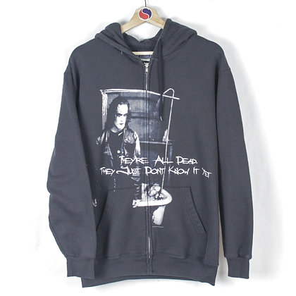 2005 The Crow Movie Zip Hoodie - M