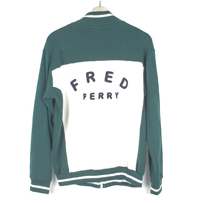 Fred Perry Zip Sweatshirt - M