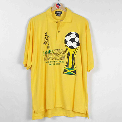 Vintage 1998 World Cup Qualifiers Polo - L