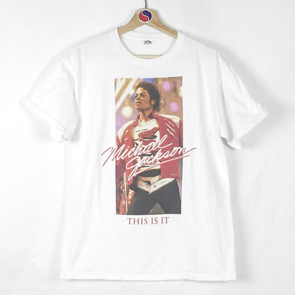 2000's Michael Jackson This Is It Tee - M