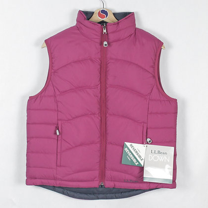 Women's Deadstock L.L.Bean Reversible Down Vest - M