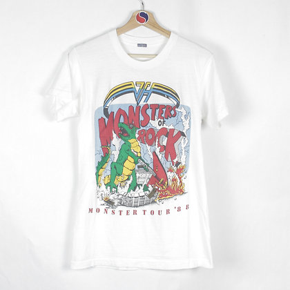 1988 Monsters Of Rock Band Tee - M (S)