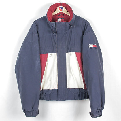 90's Tommy Hilfiger Flag Jacket - XL (L)
