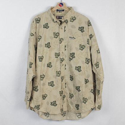 Chaps Ralph Lauren Floral Button Down Shirt - XL