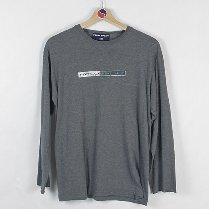 Vintage Polo Sport 3M Long Sleeve - M (S)