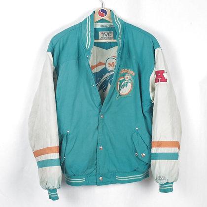 90's Miami Dolphins Light Jacket - S