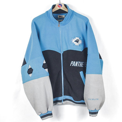 90's Carolina Panthers Fleece Jacket - XXL