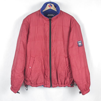 90's Nautica Competition Fleece Lined Light Jacket - M