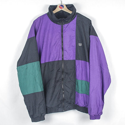 90's USA Olympics Windbreaker - L
