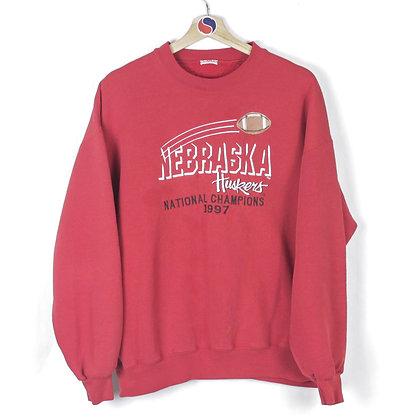 1997 Nebraska Huskers Crewneck - XL