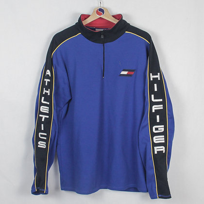 Vintage Tommy Hilfiger Athletics 1/4-Zip - XL (L)