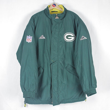 90's Green Bay Packers Jacket - L