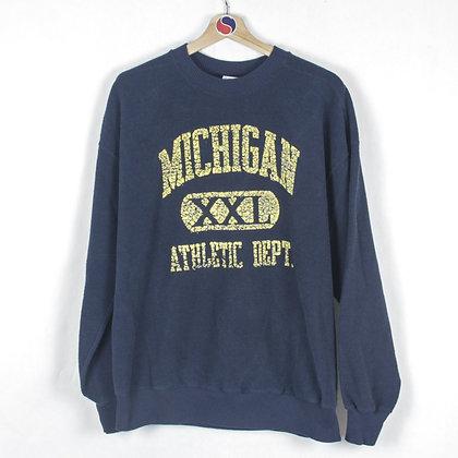 2000's Michigan Crewneck - L