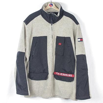 90's Tommy Hilfiger Jeans Heavy Fleece - XXL