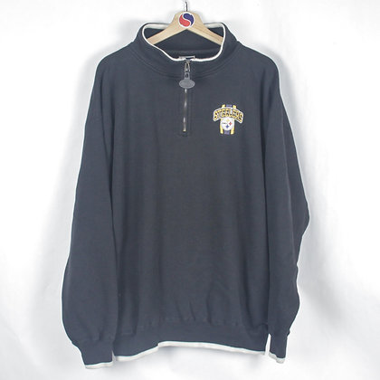 90's Pittsburgh Steelers Zip Sweatshirt - XL