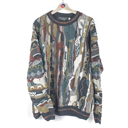 90's Coogi Style Sweater - XXL