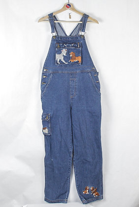 2000's Lady & The Tramp Overalls - S