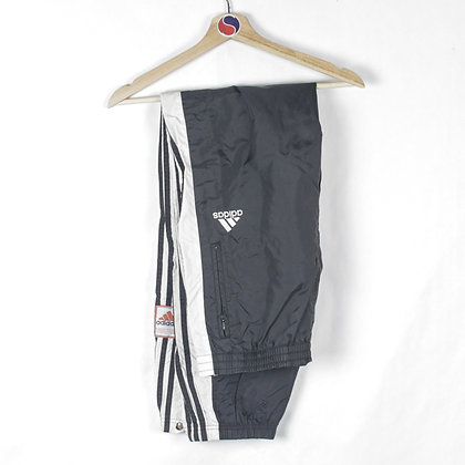 90's Adidas Snap Track Pants - L