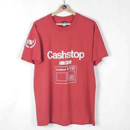 90's Scotiabank Cashstop Tour Tee - XL