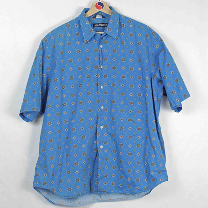 Vintage Nautica Button-Up - L