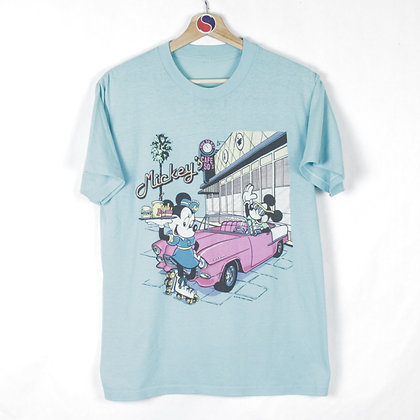 80's Mickey's Diner Tee - M
