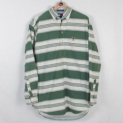 Vintage Tommy Hilfiger Pullover Button Down Crest Shirt - M (L)