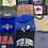 Thumbnail: Locations Sweatshirt Tees Wholesale Bundle Lot (Outer Banks, Michigan, Toronto)
