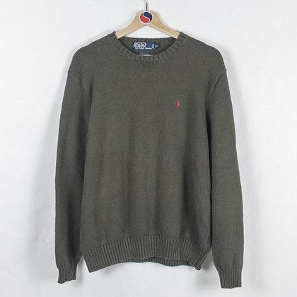 Vintage 90's Polo Ralph Lauren Knit Sweater - XXL (L)