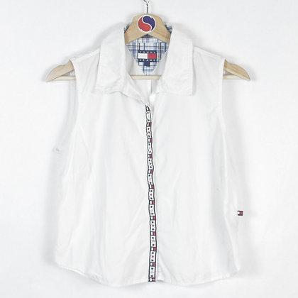 Vintage Women's Tommy Hilfiger Button-Up - L (S)