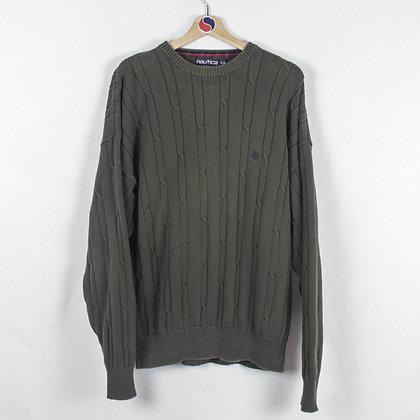 Vintage Nautica Knit Sweater - XL (L)