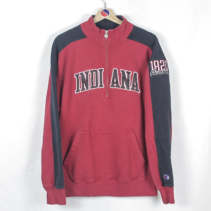 Champion Indiana Zip Sweatshirt - L