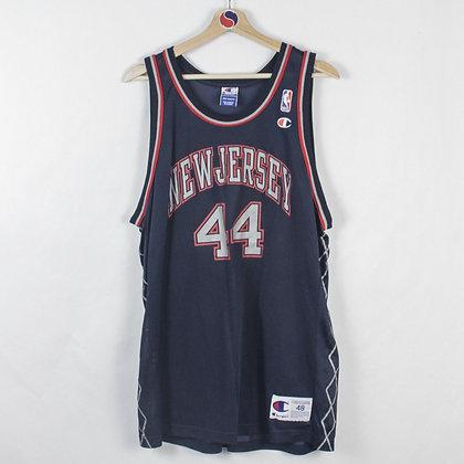 Vintage Keith Van Horn New Jersey Nets Jersey - L