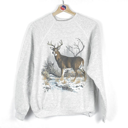 1990 Deer Crewneck - L (M)