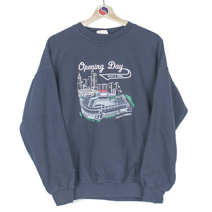 1994 Cleveland Indians Opening Day Crewneck - L