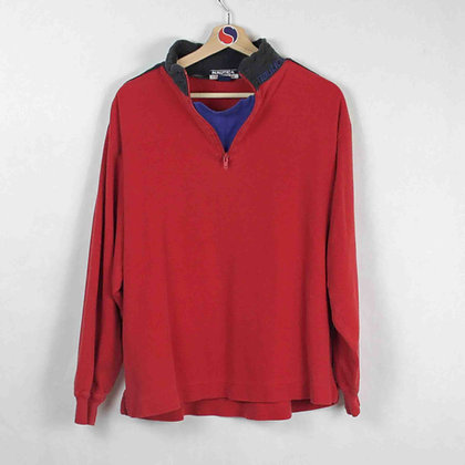 Vintage Nautica Competition 1/4-Zip - M